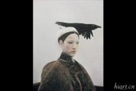 何多苓代表作《乌鸦是美丽的》春季上拍,何多苓,艾轩