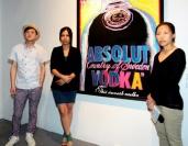 """对艺术""""绝对""""坚持——绝对伏特加艺术收藏2011巡展,高瑀,Damien Hirst,安迪•沃霍尔,弗朗切斯科•克莱门特,罗斯玛丽•特洛柯尔"""