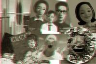 戴上3D眼镜看艺术,刘小东,严培明,赵力,朱 加