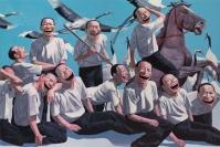当代艺术拍场龙虎斗,张晓刚,曾梵志,岳敏君,蔡国强,刘野,齐白石