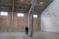 钢材、涟漪和纺织厂 切克尼新作个展开幕,劳瑞斯•切克尼