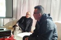 """""""刘小东在和田""""文献成果发布 艺术之路未完待续,刘小东,谢素贞,侯瀚如"""