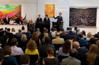 伦敦六月当代拍卖 巴斯奎特、培根风头不减,张晓刚,Peter Doig,彼得•多依格,赵无极,Hurvin Anderson,Jean-Michel Basquiat,Francis Bacon,Thomas Struth,Andreas Gursky,Lucio Fontana