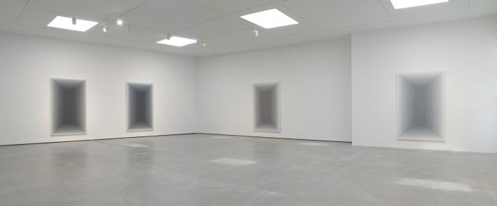 2012年,王光乐签约纽约佩斯后的首次个展