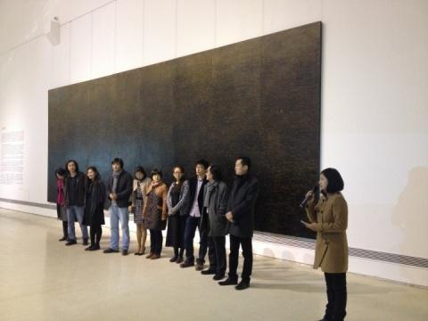 徐冰研究生展巡回北京 悦美术馆呈现不同现场