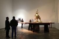 """香格纳的""""半自动方式"""",三位艺术家的半自动创作,李然,陆垒,李平虎"""