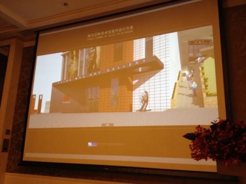 正眸美术馆位于青岛崂山风景区内,由经营房地产生意的吕超作为投资人