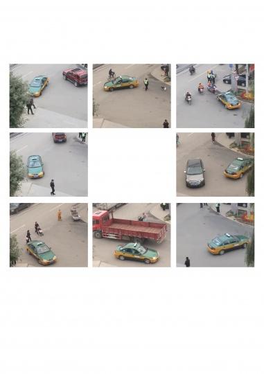 《一直左转》 2013  在北京打一个出租车一直左转,则为原地转圈500元