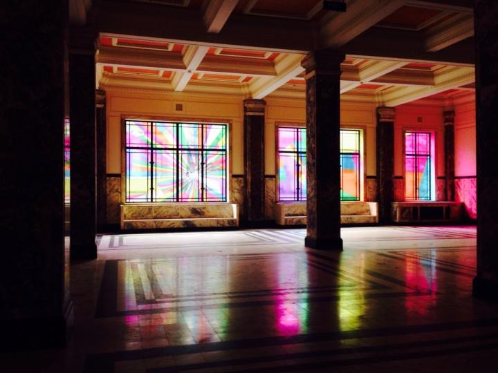 艺术家林明泓为ART021艺博会特别创作的窗户