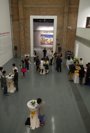 蜂巢当代艺术中心的VIP预览酒会