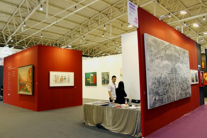 转型后的蜂巢当代艺术中心在艺术北京上的亮相