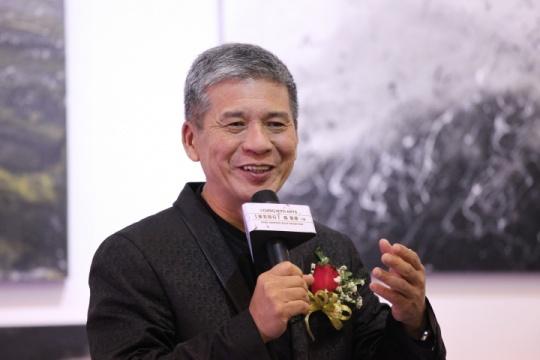 首次亮相北京个展的国际知名风水师 陈军荣