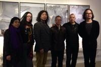 吕德安作品展在树下画廊举办,陈文令,王光乐,朱朱,谢素贞,夏可君