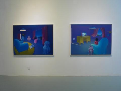 """童真的""""舞台"""" 马丹第三回个展在艾米李画廊展出"""