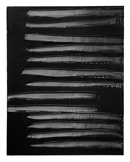 2013年10月19日作品 Soulages Archives, 2014 Photo: © Vincent Cunillère