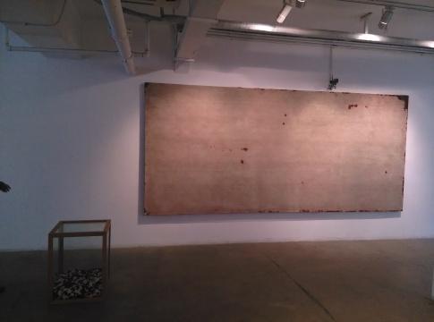 《图像的构造》,李钢,装置,420X200cm,2012
