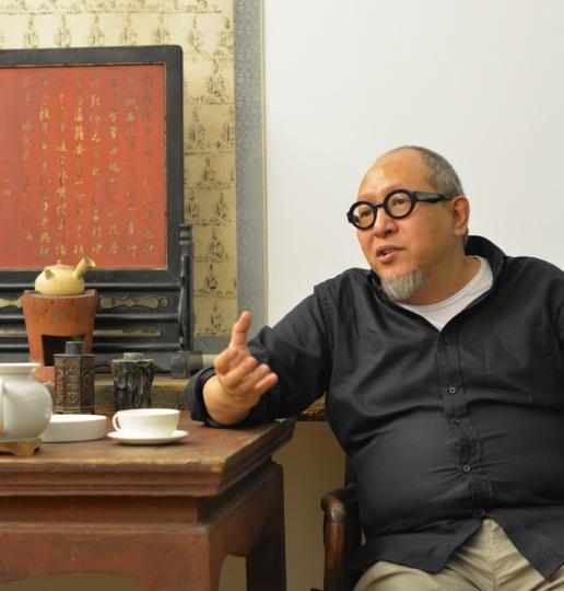 百艺画廊负责人禚宏顺