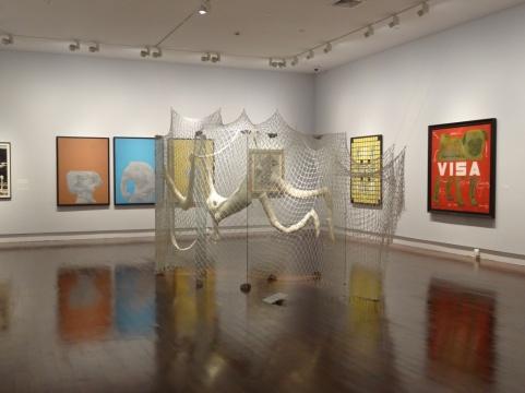 """4展厅,进入展览关于""""历史""""的部分"""