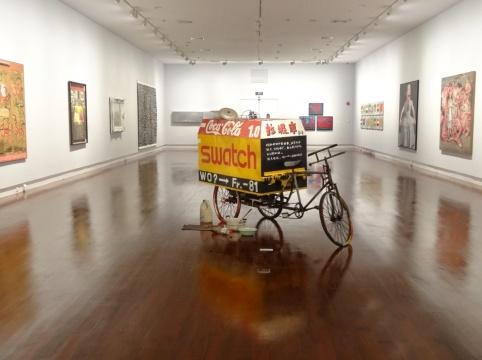 王广义《北京胡同的垃圾车》,5展厅