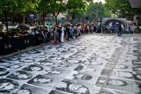 """法国街头艺术家JR在上海""""特写"""""""