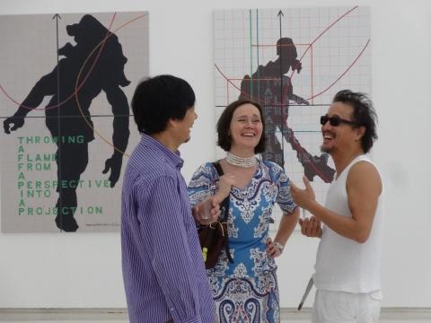 艺术家吴山专和英格