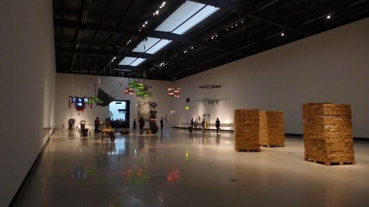红砖美术馆6号展厅,展览现场
