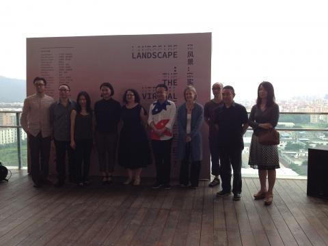 广东时代美术馆馆长、展览策展人、艺术家及嘉宾出席开幕