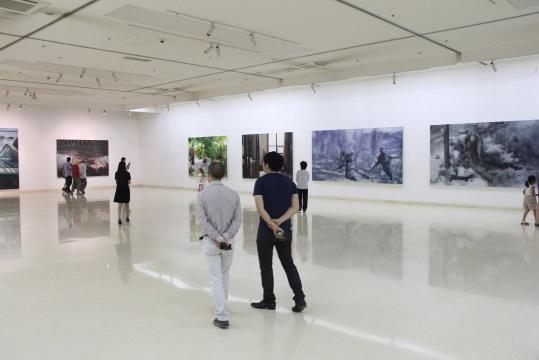 艺术群星汇聚 超级景观亮相石家庄美术馆