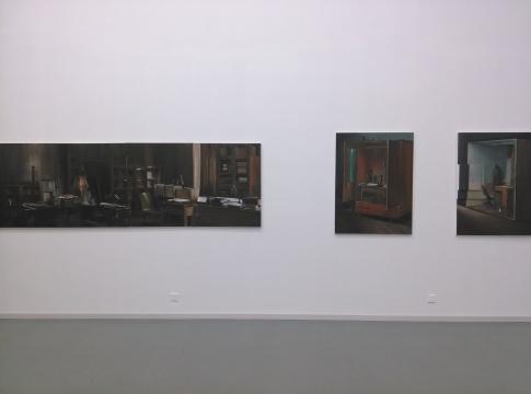 陶大珉的画作对密室与空间进行了视觉重现