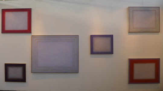 魔金石艺术空间展位艺术家王忠杰2013年系列作品