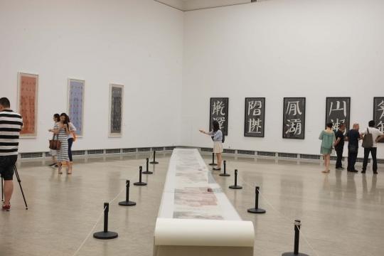 """""""转序IN SEQUENCE""""——水墨中国当代艺术展 展览现场"""