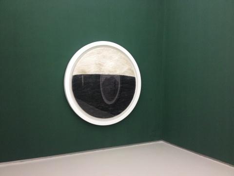 苏上舟 《至上—静》 海(一) 150x150cm 宣纸水墨 2013