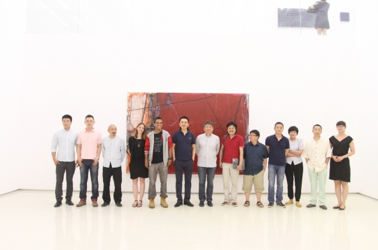 抽象的第七回讨论  偏锋新艺术空间抽象艺术展开幕