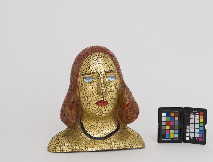 1940年作品《Teresita肖像》 © Fondazione Lucio Fontana, Milano / by SIAE / Adagp, Paris 2014