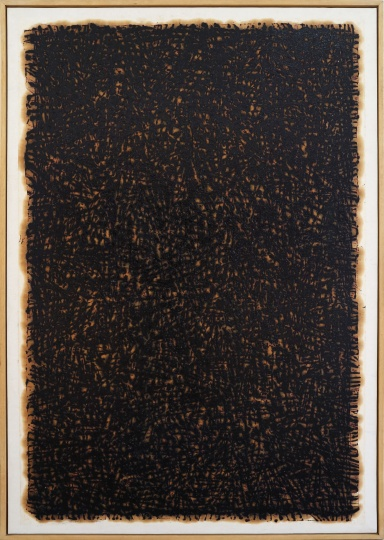 《95-9-39》103x152cm 纸上油画 1995