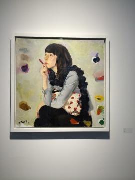 刘小东2009年的作品《大卓》