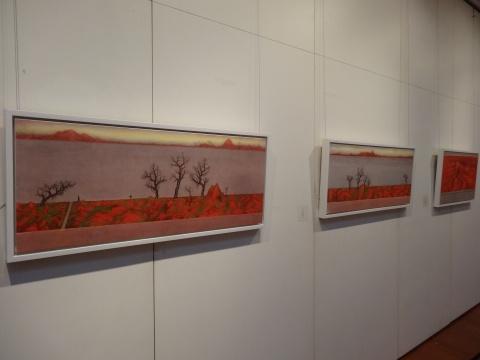 墨田的纸本水墨作品,在偶然中戳中了当代艺术整体的创作状态