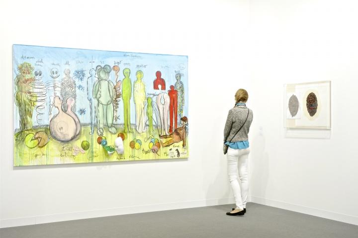 Nathalie Obadia画廊展位 Courtesy:Art Basel