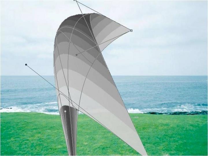 《虚拟内存的风》录像装置 01分00秒 循环 2013