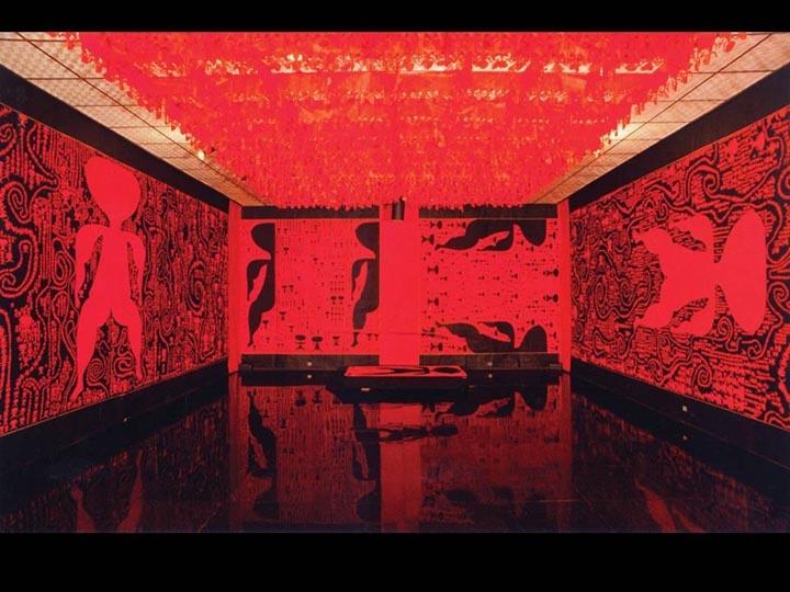 《-|及其负形》在北京当代美术馆。