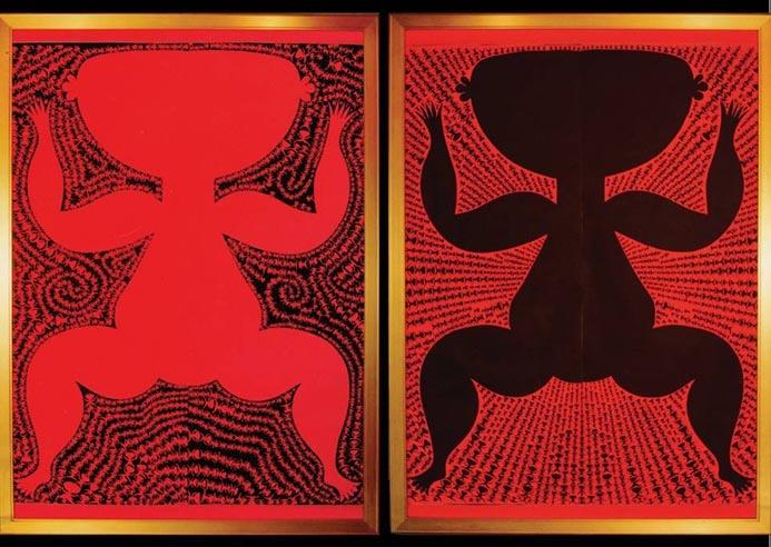 《有与无》在北京当代美术馆。