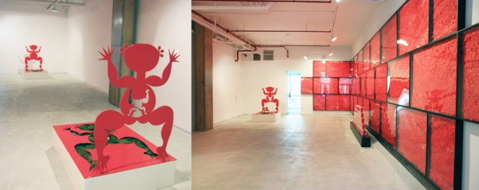 2010年,《一晃十年》个展在作为纽约前波画廊成立十周年展览出现。