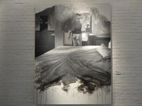 刘芯涛《房间》150x120cm 布面油画 2014