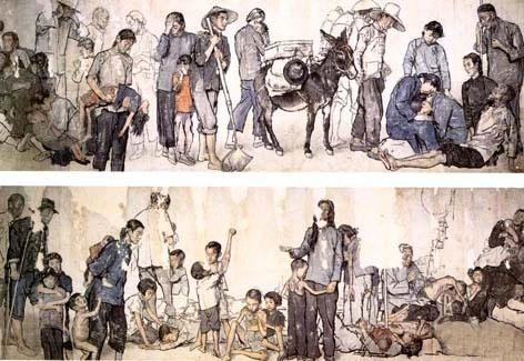 蒋兆和 《流民图》