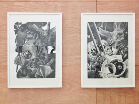 张晓东的作品《伤心》