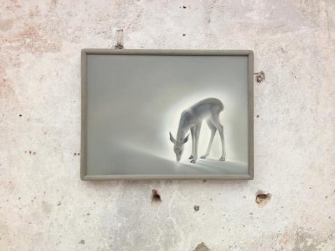 宋琨的作品《鹿园》