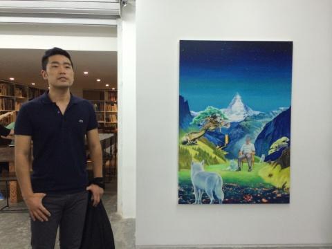 80后艺术家张宗完用绘画的形式表达内心的乌托邦场景