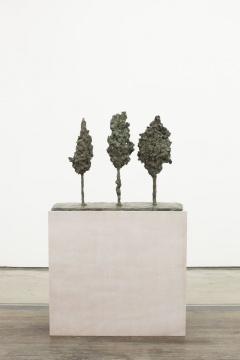 欧阳春,《渣滓》,三棵树,青铜,86x34x65cm,2013
