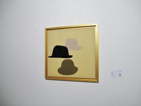马灵丽作品《宇宙1》,表现了物象的三种形态。