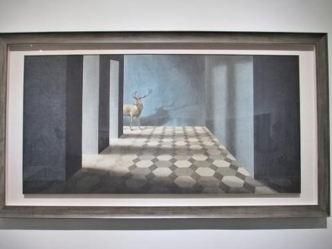 秦艾的作品《迷宫的入口》